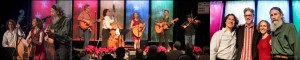 Hank & Shaidri, Texas Radio Live Broadcast, with David Arnsberger @ Güero's Taco Bar | Austin | Texas | United States