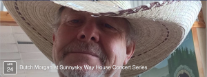 House Concert: BUTCH MORGAN w/ Hank Alrich @ Private residence in S Austin TX