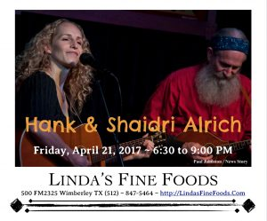 Hank & Shaidri @ Linda's Fine Foods