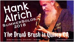 Hank Alrich Solo Friday June 15 @ The Drunk Brush Wine Bar