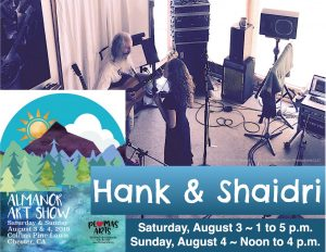 Hank & Shaidri @ 50th Annual Lake Almanor Art Show