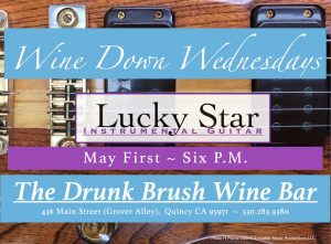 Lucky Star ~ Instrumental Guitar @ The Drunk Brush Wine Bar