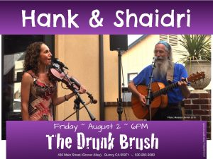 Hank & Shaidri @ The Drunk Brush Wine Bar