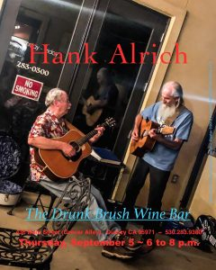 Hank Alrich @ The Drunk Brush Wine Bar