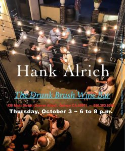 Hank Alrich @ The Drunk Brush Wine Bar