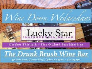 Lucky Star ~ Instrumental Guitar @ The Drunk Brush Wine Bar