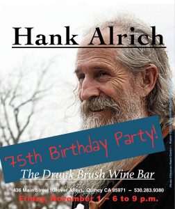 Hank Alrich Birthday Party! @ The Drunk Brush Wine Bar