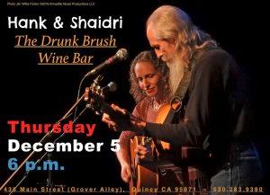 Hank & Shaidri @ The Drunk Brush Wine Bar